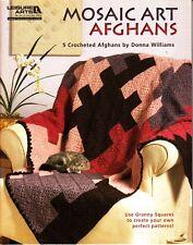 Mosaic Art Afghans by Donna Williams (2011, LA Crochet Booklet)
