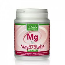 Fin Mag375tabs 140 tabl.- Finclub - zdrowe kości, zęby, mięśnie