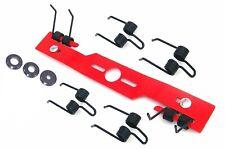 """41 CM 16"""" universal SCARIFIER DE THATCHER QUATRO lawnmower blade + 6double tines"""
