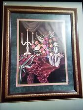 """Home Interior Homco""""Beautiful """"Old World Harmony """"Picture """"Designer Serie"""