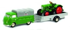 Schuco Piccolo VW T1 mit Anhänger + Traktor 450563400