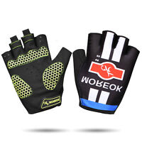 Outdoor Sports Half Finger Short Riding Biking Glove Working Gloves - M, L, XL