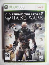 jeu ENEMY TERRITORY QUAKE WARS pour xbox 360 game en francais spiel juego X360