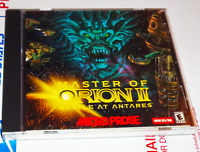 Master Of Orion 2 II Battle At Antares PC CD-ROM Vintage Rare 1999 MicroProse