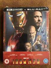 Iron Man Bluray 4K Steelbook NEU&OVP!! Marvel Avengers Robert Downey Jr.