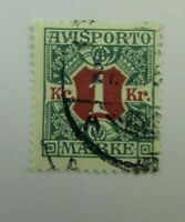 1914 Denmark  SC #P20  Used stamp