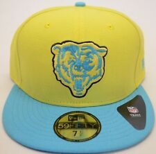 NEW!! Men's New Era Chicago Bears 59Fifty Multicolor 7 1/2 Fitted Cap