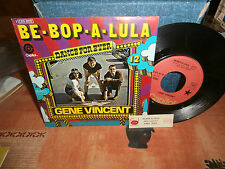 "gene vincent""be bop a lula""single.or.fr.1975.lbl:rouge + encart pour juke-box"