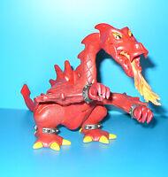 FIGURINE PLAYMOBIL ANIMAL - DRAGON ROUGE CRACHEUR DE FEUX CHATEAU CASTLE  E02