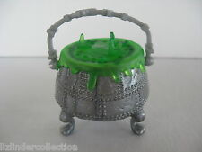MONSTER HIGH Frankie Stein Ghouls Rule~ SILVER POTION Food CAULDRON Accessory