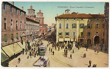 Ferrara - Piazza Cattedrale e Commercio