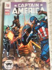 Captain America Comic Book75th Marvel Custom Edition #1 San Diego SDCC Exclusive