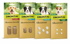 Drontal Allwormer for Medium Dogs 10kg 2 Chews