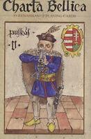 HUNGARIAN PLAYING CARDS CHARTA BELLICA, RUMMY - ORIGINAL PIATNIK - 55 cards, Pia