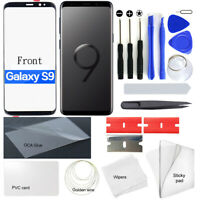 For Samsung Galaxy S9 OEM Front Lens Screen Glass Replacement + Repair Tools OCA