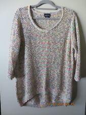 city chic, XS, cotton blend knit, 3/4 sleeve, hilo hem NWOT