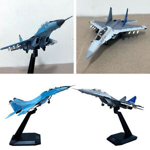 1:100 MIG-35 Fighter Aircraft Model w/ Stand Collections Table Adults Gifts