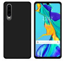 Funda Gel Tpu para Huawei P30 Color Negra