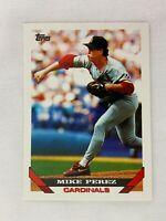 Mike Perez St. Louis Cardinals 1993 Topps Baseball Card 229