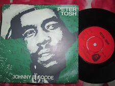Peter Tosh – Johnny B. Goode Label: EMI – RIC 115 UK 7inch Vinyl Single