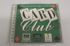 Card Club (PC) - New / Sealed - Cribbage / Spades / Euchre / Hearts