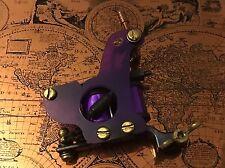 Handmade Quality Tattoo Machine Shader 10 Coils Purple Ringmaster Irons 18