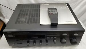 Yamaha - RX-596 - Natural Sound Stereo Receiver, AM / FM -Tested, Remote, Bundle