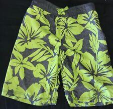 Boys Old Navy Swim Shorts Large 10-12 Multi-color EUC Trunks