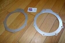 Pair Land Rover Defender Swivel Oil Seal Retainer Plates FRC4142 STAINLESS 2.5mm