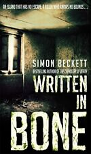 (Good)-Written in Bone (Paperback)-Simon Beckett-0553817507