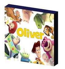 PERSONALISED TOY STORY b CANVAS PICTURE