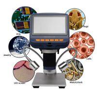 Andonstar AD106S USB Digital Microscope 4.3'' HD 1080P for SMD Soldering Repair