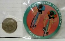 1984 VINTAGE OLYMPIC LOS ANGELES PIN - CYCLING - USED EX COND