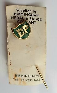 VINTAGE BP OIL TIE PIN, ENAMEL BADGE