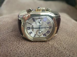 STAUER Gold Plated Automatic Men's Watch