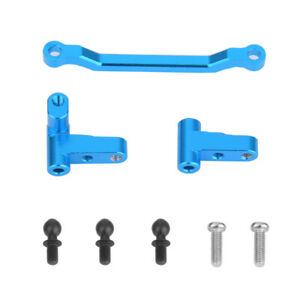 3PCS/Set Metal RC Car Steering Linkage Turning Seat For WLtoys A949 A959-B A969