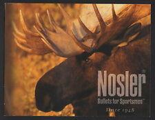 Nosler Bullet and Ammunition Brochure - undated