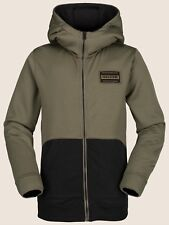 2019 NWT BOYS VOLCOM KRESTOVA FLEECE $50 M Military zip hoodie soft fleece