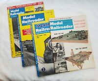 Vintage Model Railroader Magazines 1955-56 and 1964 Lot of 4
