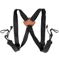 Newly Deluxe Shoulder Harness Strap Belt On Binoculars Adjustable For Camera Use