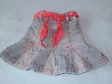 Pumpkin Patch Gorgeous Girls Denim Skirt With Waist Tie/Belt, Size 2