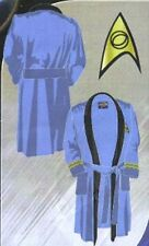 Star Trek Classic TOS Science Blue (Spock) Terry Cloth Bath Robe- FREE S&H