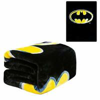 DC Comics Batman Arkham Knight Emblem Logo Queen Size Soft Plush Flannel Blanket