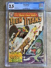 Teen Titans #1 CGC 2.5 DC 1966 1st Solo Title! HOT! Robin Wonder Girl Kid Flash