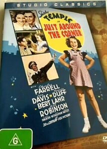Shirley Temple : Just Around The Corner : New Old Aus Stock : NEW DVD