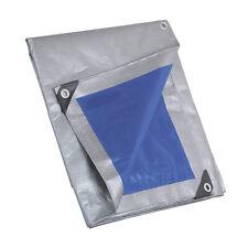 Telo Occhiellato: Impermeabile in PVC, da 250 Gr, 8x12 mt, Occhiello Rinforzati
