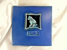 2006 Michael Cohen Cat & Fish Cobalt Blue Hot-Plate Tile 5 ¾�