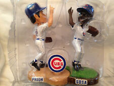 Forever Legends of the Diamond Bobblemates Cubs Sosa & Prior Bobbleheads - NEW!