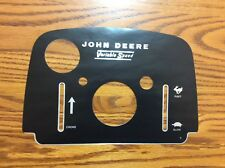 Rare Old John Deere 110 Dash Decal 250,001-up,112 *