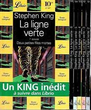 STEPHEN KING--LA LIGNE VERTE intégrale x 6--Edition LIBRIO fantastique